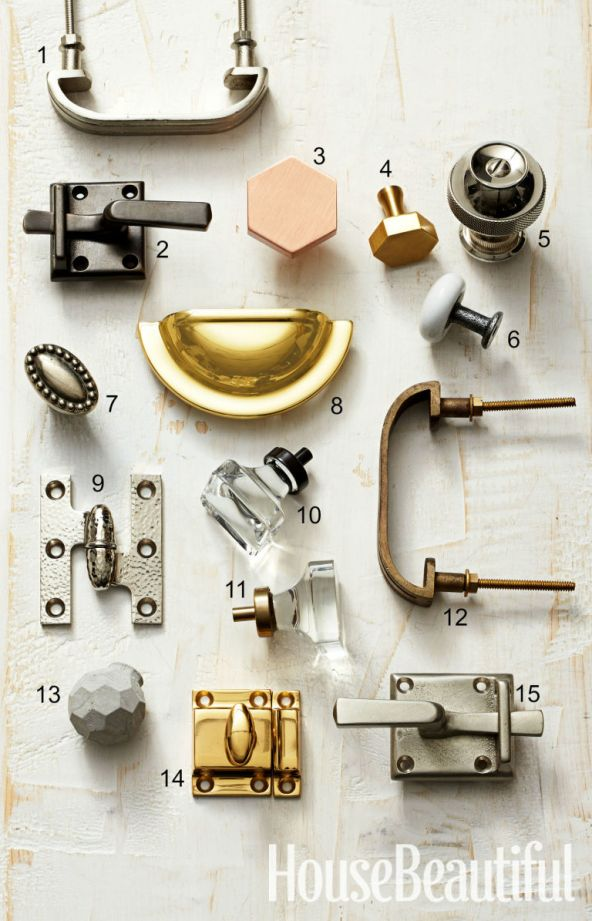 Andrea Wachs Interior Design, House Beautiful Hardware